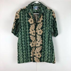 Styled by the men's Hawaiian shirt
